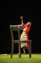 "London, UK. 06.02.2014. Tanztheater Wuppertal Pina Bausch present ""1980 - a piece by Pina Bausch"" at Sadler's Wells. The dancers are: Regina Advento, Ruth Amarante, Pablo Aran Gimeno, Rainer Behr, Andrey Berezin, Ales Cucek, Clementine Deluy, Josephine Ann Endicott, Silvia Farias Heredia, Barbara Kaufmann, Ditta Miranda Jasjfi, Scott Jennings, Nayoung Kim, Daphnis Kokkinos, Edie Martinez, Dominique Mercy, Thusnelda Mercy, Cristiana Morganti, Nazareth Panadero, Helena Pikon, Jorge Puerta Armenta, Franko Schmidt, Azusa Seyama, Julie Shanahan, Julie Anne Stanzak, Michael Strecker, Fernando Suels Mendoza, Aida Vainieri, Anna Wehsarg, Paul White, Tsai-Chin Yu. Picture shows: Julie Shanahan. Photograph © Jane Hobson."