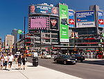 Dundas Square at Yonge and Dundas streets. Downtown Toronto, Ontario, Canada 2010.