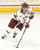 Kelli Stack (BC - 16) - The Boston College Eagles defeated the visiting Northeastern University Huskies 2-1 on Sunday, January 30, 2011, at Conte Forum in Chestnut Hill, Massachusetts.