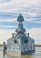 If you saw this comming at you your heart would stop a beat. The Battleship Texas was an impressive ship with lot of guns and it fought in two wars but today it is a floating museum to commerate those that served.  It is a historic landmark that sit in La Porte Texas along the ship channel.