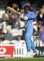 09/07/2002 - Tue.Sport - Cricket-  NatWest Series - Eng vs India Oval.India batting -  Ajay Ratra