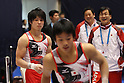 (L to R) Kohei Uchimura (JPN), Shogo Nonomura (JPN), NOVEMBER 27, 2011 - Artistic Gymnastics : FIG ART World Cup 2011 Tokyo Men's Individual All-Around at Ryogoku Kokugikan, Tokyo, Japan. (Photo by YUTAKA/AFLO SPORT) [1040]