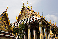Royal Chapel of the Emerald Buddha, Bangkok, Thailand