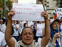 Marcha contra Proceso Paz  / Protest against Peace Process, Medellin, Colombia. 13-12-2014