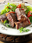 Sirloin steak & salad