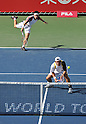 Kei Nishikori (JPN), Tatsuma Ito (JPN), October 3, 2011 - Tennis : Men's Doubles at Rakuten Japan Open Tennis Championships in Tokyo, Japan. (Photo by Atsushi Tomura/AFLO SPORT) [1035]