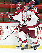 Phil Zielonka (Harvard - 72), David Valek (Harvard - 23) - The visiting Boston College Eagles defeated the Harvard University Crimson 5-1 on Wednesday, November 20, 2013, at Bright-Landry Hockey Center in Cambridge, Massachusetts.