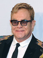 NEW YORK, NY - NOVEMBER 02: Sir Elton John  attends 15th Annual Elton John AIDS Foundation An Enduring Vision Benefit at Cipriani Wall Street on November 2, 2016 in New York City.Photo by John Palmer/ MediaPunch
