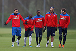 271211 Rangers training