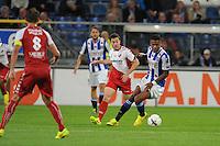 VOETBAL: HEERENVEEN: Abe Lenstra stadion 30-08-2014, SC Heerenveen - FC Utrecht uitslag 3-1, Kenneth Otigba, ©foto Martin de Jong