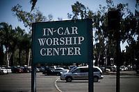 Fortvil ikke om kirken er fullsatt. Orange County. 01.04.10.