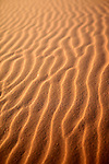 Africa, Namibia, Sossusvlei. Ripples in the ever shifting sand sea of Sossussvlei.