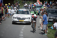 Edvald Boasson Hagen (Nor/DimensionData)<br /> <br /> Stage 18 (ITT) - Sallanches &rsaquo; Meg&egrave;ve (17km)<br /> 103rd Tour de France 2016