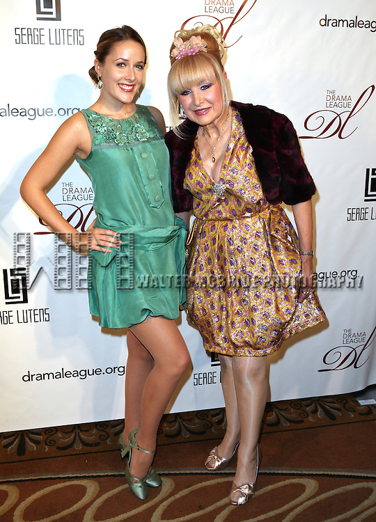 Francesca Macartney Beale & Cristina Cote attending the Drama League's 29th Annual Musical Celebration of Broadway Honoring Audra McDonald at the Pierre Hotel in New York City on 2/11/2013