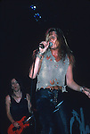 Sebastian Bach of Skid Row 1989