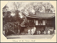 BNPS.co.uk (01202 558833)<br /> Pic: Sothebys/BNPS<br /> <br /> Entrance to the Palace in Seoul.<br /> <br /> Unseen pictures from the days of Empire - A British admiral's stunning collection of photos from his time in the Far East have been unearthed after 110 years.<br /> <br /> The fascinating photographs were compiled by Admiral Sir Arthur Moore during his service as Commander-in-Chief of the China Station between 1906 and 1908. <br /> <br /> They cover Adm Moore's travels by ship and boat in China, Korea and Thailand and his interest in the places and people he encountered. <br /> <br /> The locations include scenes along the Yangtze River, Hong Kong, Bangkok, Peking, Shanghai and Seoul.