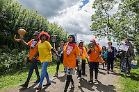 Protest at Yarleswood Detention Centre. 6-6-15