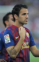 FUSSBALL  INTERNATIONAL   SAISON 2011/2012   22.08.2010 Gamper Cup FC Barcelona - SSC Neapel Cesc Fabregas (Barca)