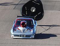 Feb 24, 2017; Chandler, AZ, USA; NHRA top sportsman driver Ray Martin during qualifying for the Arizona Nationals at Wild Horse Pass Motorsports Park. Mandatory Credit: Mark J. Rebilas-USA TODAY Sports