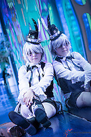 Montreal - Canada - File Photo - Model released photo of cosplayers at Montreal's 2014 Otakuthon.<br /> <br /> Photo : Agence Quebec Presse - Philippe Nguyen