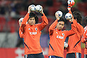 (L to R) Ryo Miyaichi, Yuto Nagatomo (JPN), FEBRUARY 29, 2012 - Football / Soccer : 2014 FIFA World Cup Asian Qualifiers Third round Group C match between Japan 0-1 Uzbekistan at Toyota Stadium in Aichi, Japan. (Photo by Akihiro Sugimoto/AFLO SPORT) [1080]