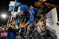 Santa Clara, Ca - Tuesday, March 11, 2014: The San Jose Earthquakes tied Deportivo Toluca FC 1-1 in the CONCACAF Champions League quarter finals at Buck Shaw Stadium.