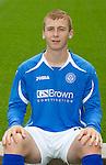 St Johnstone FC...Season 2011-12.Liam Caddis.Picture by Graeme Hart..Copyright Perthshire Picture Agency.Tel: 01738 623350  Mobile: 07990 594431