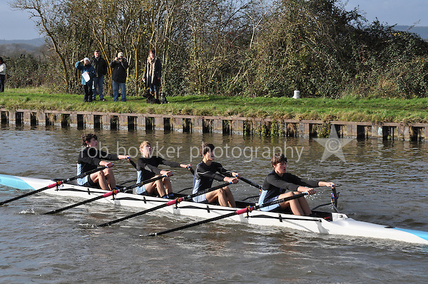 305 MOC Monmouth Comp. Wycliffe Small Boats Head 2011. Saturday 3 December 2011. c. 2500m on the Gloucester Berkeley Canal