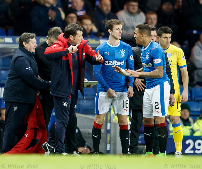 James Tavernier perplexed by instructions from Graeme Murty