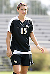 11 October 2009: Florida State's Tiana Brockway. The Duke University Blue Devils played the Florida State University Seminoles to a 0-0 tie after overtime at Koskinen Stadium in Durham, North Carolina in an NCAA Division I Women's college soccer game.