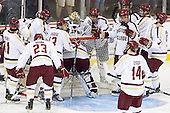 - The Boston College Eagles defeated the visiting University of Massachusetts Lowell River Hawks 6-3 on Sunday, October 28, 2012, at Kelley Rink in Conte Forum in Chestnut Hill, Massachusetts.