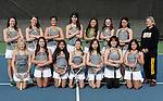 4-2-14, Huron High School girl's varsity tennis