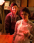 Potato Champion, a food cart in Portland, Oregon's SE Hawthorne district that sells home made french fries. Chef/Owners Xela Goldstein and Kourtney Paranteau