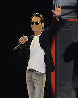 MIAMI FL - OCTOBER 29: Marc Anthony performs during the Gets Loud for Hillary Clinton at GOTV Concert at The Bayfront Park Amphitheatre on October 29, 2016 in Miami, Florida. Credit: mpi04/MediaPunch