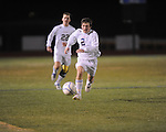 Oxford High's Hayden Stewart (2) vs. Neshoba Central in MHSAA playoff soccer action in Oxford, Miss. on Tuesday, January 22, 2013. Oxford won 3-1.