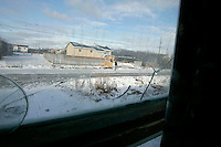 Looking out from a house in Attawapiskat. <br /> <br /> (Ian Stewart photo)