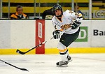 25 October 2008: University of Vermont Catamount forward Jul Sifers, a Sophomore from New London, CT, in action against the Cornell University Big Red at Gutterson Fieldhouse, in Burlington, Vermont. The Big Red defeated the Catamounts 5-1 to sweep their 2-game series in Vermont...Mandatory Photo Credit: Ed Wolfstein Photo