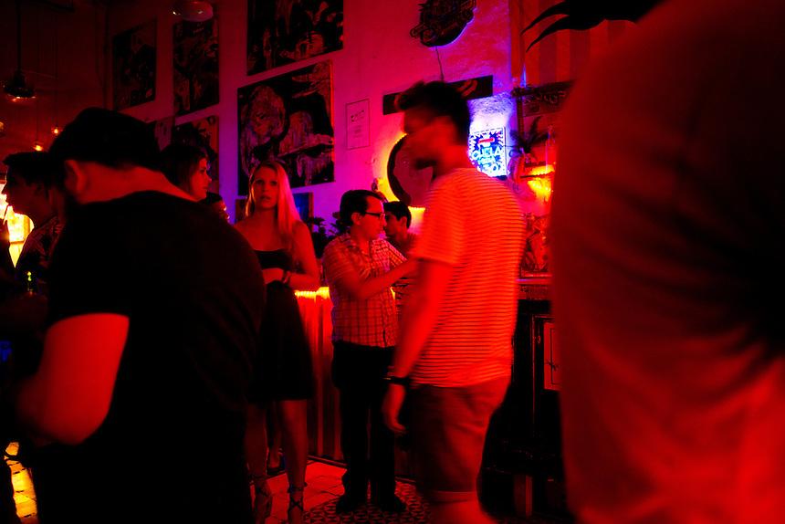 La Fundación Bar and Mezcaleria. Merida, Yucatan, Mexico