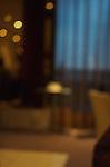A blurred interior
