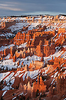 Hoodoo rock formations of the Amphitheater from Sunrise point, Bryce Canyon national park, Utah, USA