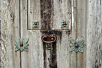 Old Door Hardware at Presidio La Bahia