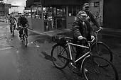 Gdansk 23 September 2008 Poland.<br /> The Gdansk Shipyard.<br /> The Polish shipyard industry is in a deep crisis. The Gdansk and Szczecin shipyards are under the threat of liquidation. The battle between the Polish government, creditors and European Union rages on. Spyard workers live under immense pressure of dissmissals. They are completely unsure of their future; they leave, search for work in England, Irland, Norway. During last two months over 25 % of workers left the Szczecin shipyard. The trade union Solidarnosc, with its cradle shipyard in Gdansk fought for free Poland 27 years ago. Today it fights for the survival of the shipyard.It organizes manifestations and pickets.<br /> In the 70's ansd 80's nearly 20 thousand people worked in the shipyard. Today only 3 thousand are left and a ghast feeling of emptiness in most of the shipyard's sectors. Today workers leave for home at 2 pm.<br /> ( &copy; Filip Cwik / Napo Images for Newsweek Poland ).<br /> <br /> Gdansk 23 wrzesnia 2008 Polska.<br /> Polski przemysl stoczniowy pograzony jest w glebokim kryzysie. Stoczniom z Gdanska i Szczecina grozi likwidacja. Gra sie toczy pomiedzy Polskim rzadem, wierzycielami a Unia Europejska. Stoczniowcom groza zwolnienia grupowe. Nie sa pewni przyszlosci; odchodza, wyjezdzaja do Anglii, Irlandii, Norwegii. W ciagu dwoch miesiecy ze stoczni Szczecinskiej zwolnilo sie 25% pracownikow. Zwiazek zawodowy Solidarnosc, ktorej kolebka jest zaklad w Gdansku 27 lat temu walczyl o wolna Polske, dzis walczy o utrzymanie zakladu pracy. Organizuje protesty manifestacje i pikiety.<br /> ( &copy; Filip Cwik / Napo Images dla Newsweek Polska )