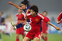(L to R) Kozue Ando (JPN), Yuan Fan (CHN), September 11, 2011 - Football / Soccer : Women's Asian Football Qualifiers Final Round for London Olympic Match between Japan 1-0 China at Jinan Olympic Sports Center Stadium, Jinan, China. (Photo by Daiju Kitamura/AFLO SPORT) [1045]