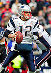 20 December 2009: New England Patriots' quarterback Tom Brady in action against the Buffalo Bills at Ralph Wilson Stadium in Orchard Park, New York. The Patriots defeated the Bills 17-10. Mandatory Credit: Ed Wolfstein Photo
