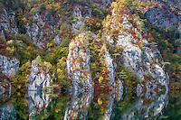 Fall colours - Drina River.