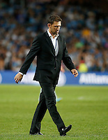 Wanderers coach Tony Popovic after their loss against Sydney FC during their A-League match in Sydney, March 8, 2014. VIEWPRESS/Daniel Munoz EDITORIAL USE ONLY