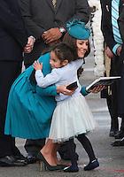 Kate, Duchess of Cambridge & Prince William arrive at Dunedin Airport - New Zealand