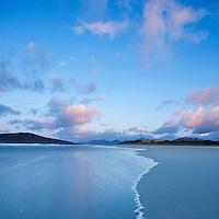 Luskentyre beach at dawn, Isle of Harris, Outer Hebrides, Scotland
