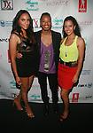 EQ Enterprises' Eunice Quiñones , Bronson and Bianca Gonzalez Attend Swim Sunrise Fashion Show Held at New York Aqua Bar & Lounge inside Grace Hotel, NY 7/27/12