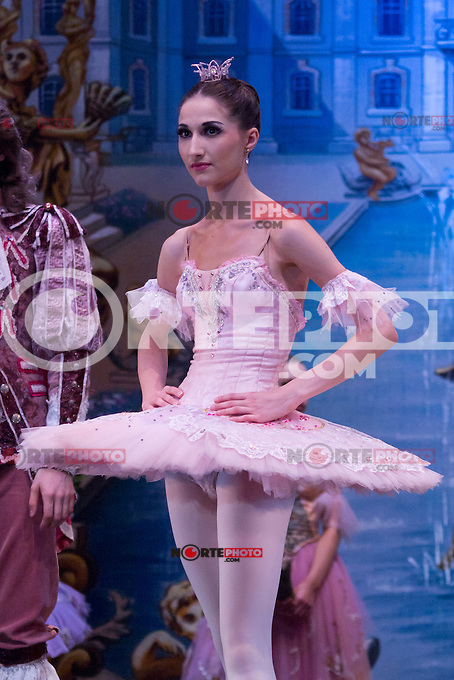 31.07.2012. Press Pass at the Teatro Compac Gran Via in Madrid of &acute;Sleeping Beauty&acute; performed by the Moscow City Ballet. The company, one of the most serious and substantial in Europe, says goodbye and Spain. The event counted with the assistance of producer Tatiana Solovieva and the soloists and leading figures Orekhova Lilia, Alevtina Lapshina, Talgat Koshabaev and Daniil Orlov. (Alterphotos/Marta Gonzalez) /NortePhoto.com<br /> <br />  **CREDITO*OBLIGATORIO** *No*Venta*A*Terceros*<br /> *No*Sale*So*third* ***No*Se*Permite*Hacer Archivo***No*Sale*So*third*